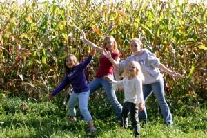 kids cornmaze